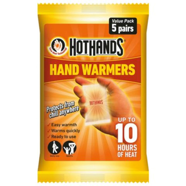 Hot Hands Hand Warmers - 5 Pairs